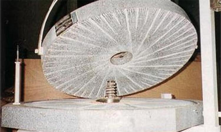 Meule d'un moulin Astrié