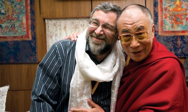 Cliff Saron et le Dalaï Lama - Séminaire BOUDDHISME ET MEDECINE au Lérab LIng
