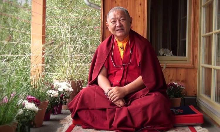 Séminaire BOUDDHISME ET MEDECINE au Lérab Ling - Ringu Tulku Rinpoché