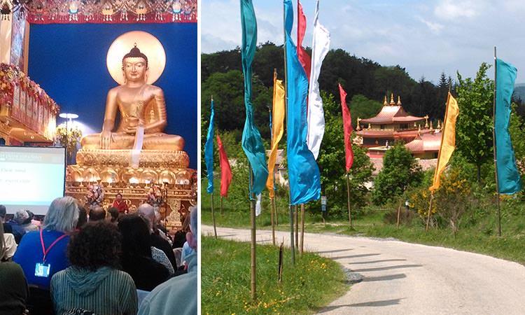 Voyage d'étude et temps de retraite - Le centre de méditation bouddhiste le Lérab Ling près de Montpellier